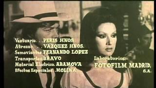 """Creditos """"Un dólar para Sartana"""" (Su le mani cadavere, sei in arresto!) - León Klimovsky - 1971"""