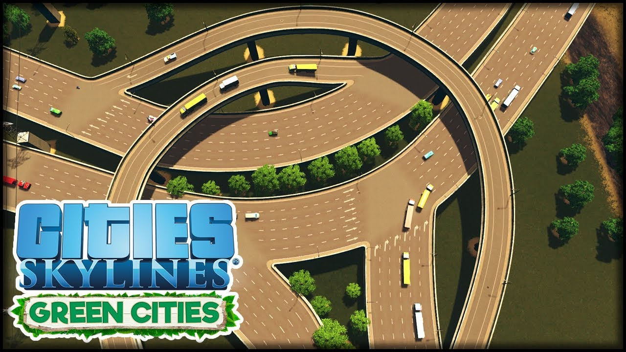 Autobahnkreuz Umbauen Mit Traffic Manager Cities Skylines S3 43