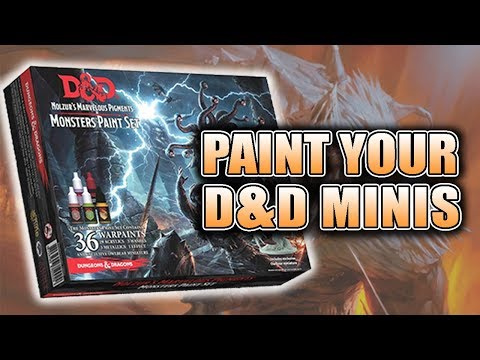 How To Use Army Painter D&D Miniatures Paints: Review
