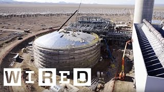 Crescent Dunes Solar Energy Project: The Facility (Part One) | WIRED