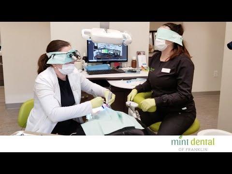 blindfolded-dentist-at-mint-dental-of-franklin