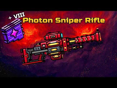 Pixel Gun 3D - Photon Sniper Rifle With Level 8 Modules! [Gameplay]