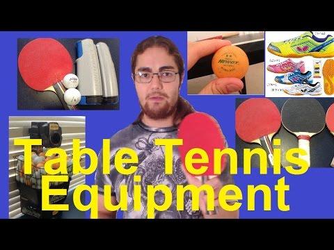 Table Tennis Equipments