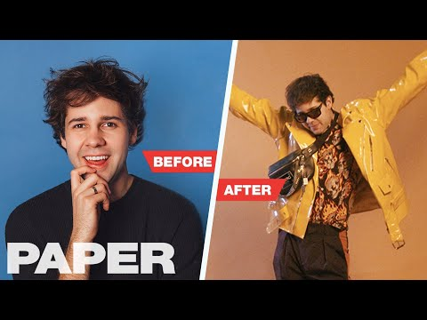 David Dobrik Gets A Style Overhaul And Shocks The Vlog Squad   TRANSFORMATION   PAPER