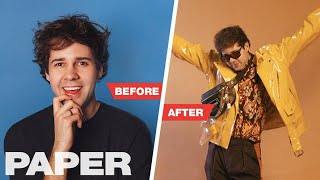 David Dobrik Gets a Style Overhaul and Shocks the Vlog Squad | TRANSFORMATION | PAPER