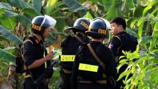 Công an vây kín khu rừng cây thượng uý công an Tuấn Khỉ - nghi phạm Củ Chi chạy trốn | QUỐC CHIẾN TV