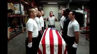 Funeral Practice - Honor Guard OCFRD 5/29/2012