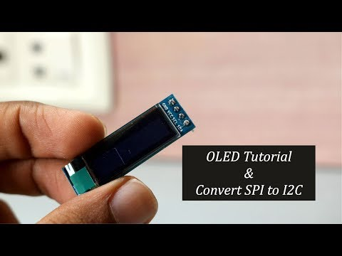 OLED Tutorial   Convert SPI to I2C: 6 Steps (with Pictures)