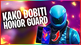 HOW TO GET A NEW SKIN HONOR GUARD IN FORTNITE!
