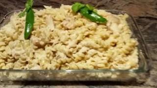 How To Make Chicken Pasta With Creamy Alfredo Sauce | Punjabi Style Recipe