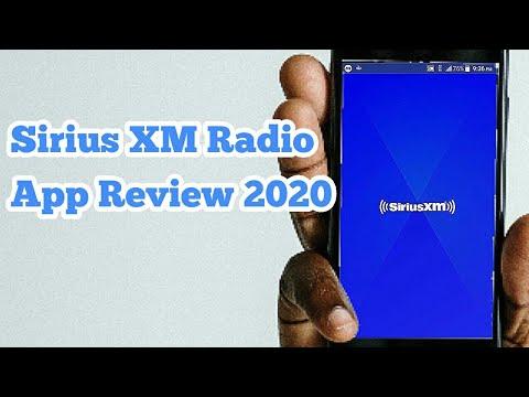 Sirius XM Radio App Review 2020