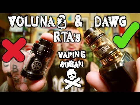 Dawg RTA & Why The Voluna 2 Is Irrelevant | Asmodus X Alex Vapers MD | Vaping Bogan