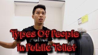 UXM - Types Of People In Public Toilet