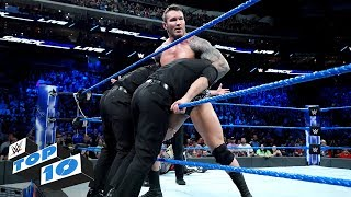 Top 10 SmackDown LIVE moments: WWE Top 10, December 19, 2017