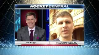 Bryzgalov: We discuss all topics on trade deadline day, global warming, universe, whatever
