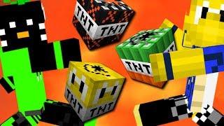 Wer überlebt zufälliges TNT? (Minecraft Lucky TNT) [Deutsch]