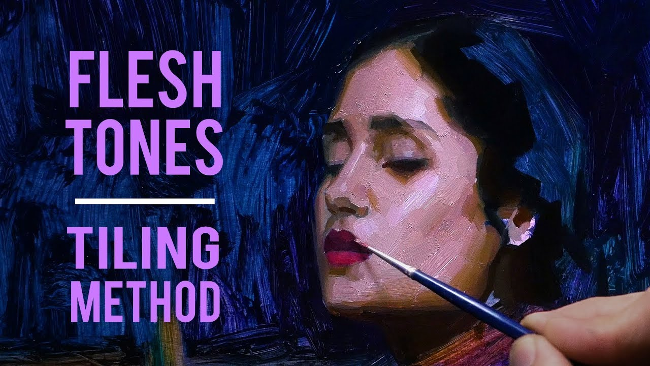 Painting Flesh Tones - Tiling Method