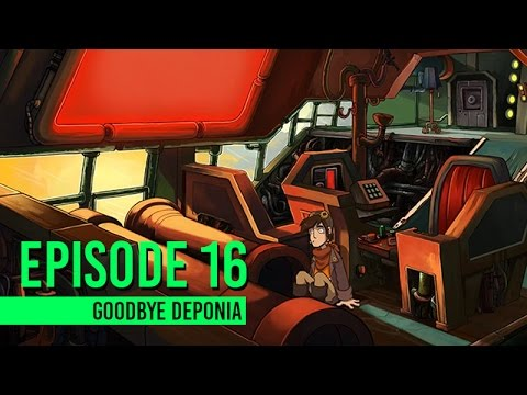 Goodbye Deponia | Story & Cutscenes | Episode 16 - Crack The Code