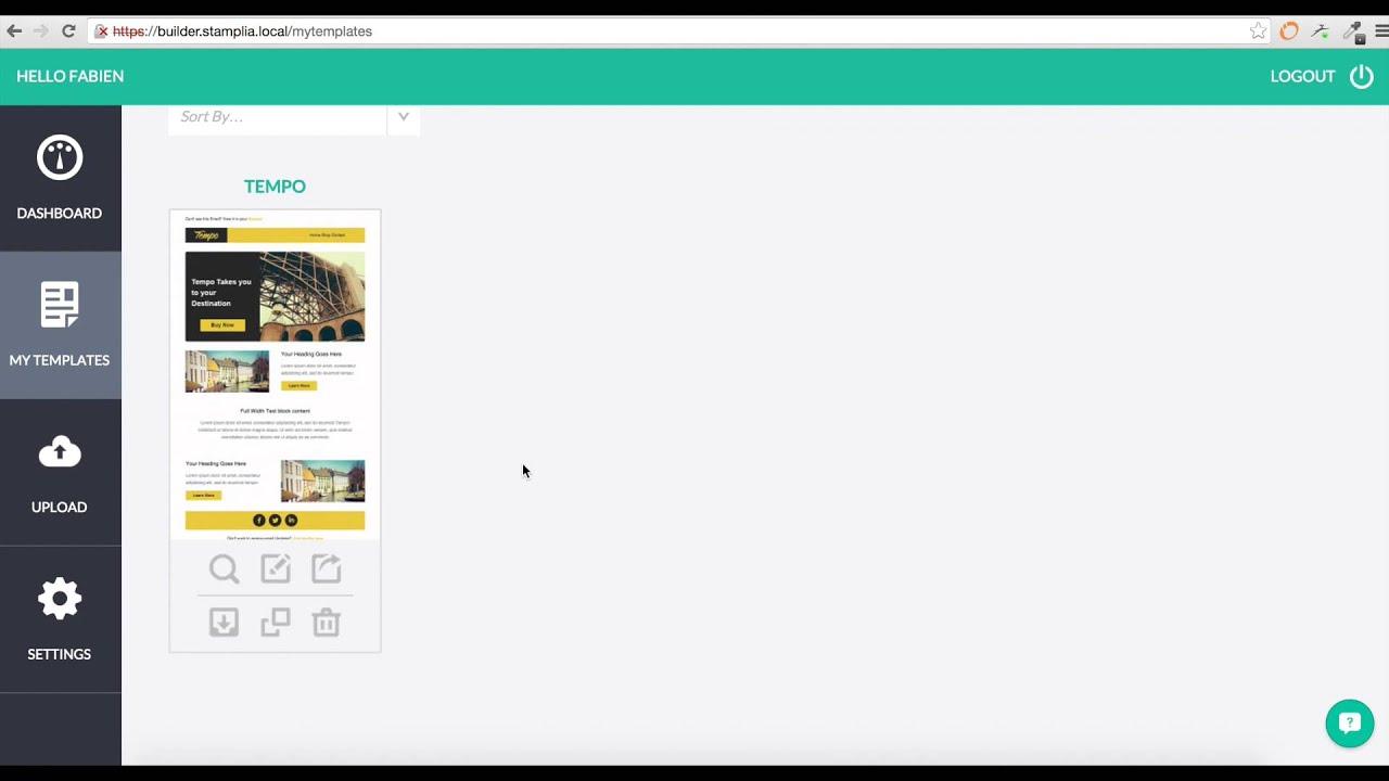 Sendy Integration (Stamplia) - YouTube