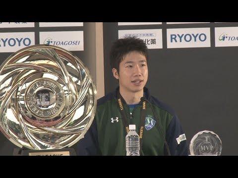 男子は東京が初代王者 卓球Tリーグ・ファイナル
