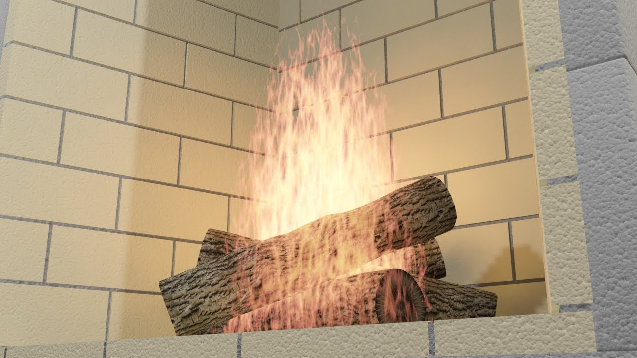 isokern masonry fireplace system youtube