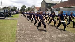 SATPAM GARDA KERTA RAHARJA Peragaan Tongkat PR 24 Angkatan 333