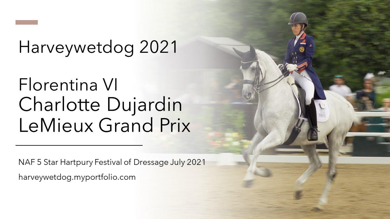 Charlotte Dujardin et Florentina VI remportent un Grand Prix national à + de 76 %