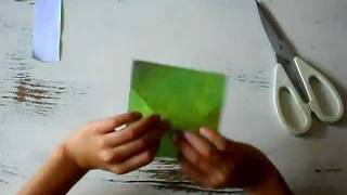 Origami Tutorial: How To Make An Origami Frog
