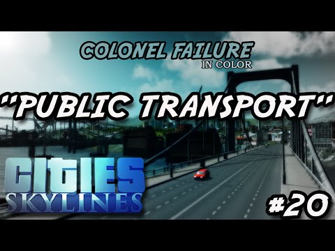 Cities Skylines #20 : Point to point public transport