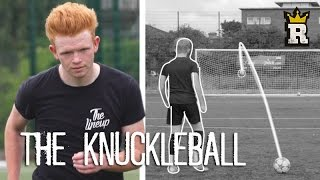 HOW TO DO THE KNUCKLEBALL FREEKICK w/ Power and Precision | Rule'm Sports