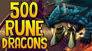 Runescape - Loot From 500 Rune Dragons