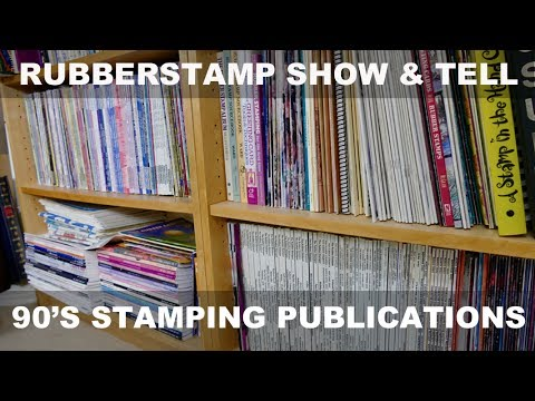 Rubberstamp Show-and-Tell: 90's Rubber Stamp Publications