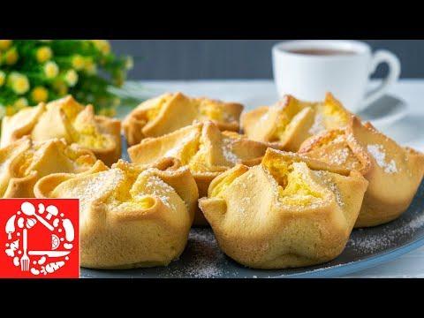 Вы тоже захотите ИХ приготовить! Легкий рецепт пирожных из самых доступных ингредиентов