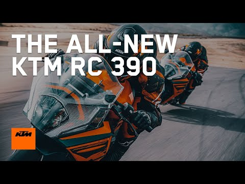 The 2022 KTM RC 390 - Bred on the race track | KTM