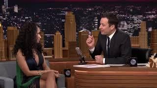 Nicki Minaj and Cardi B on Jimmy Fallon