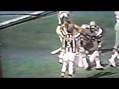 Randy White Hit on Jaworski