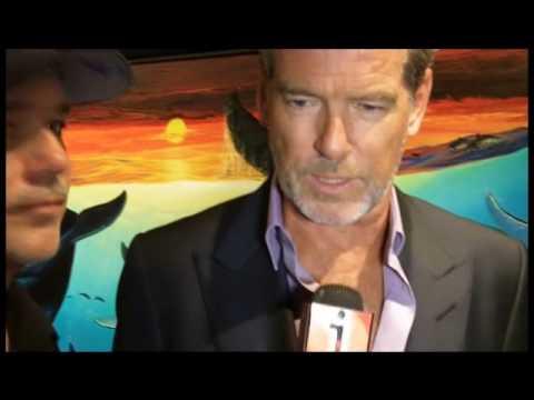 Wyland & Pierce Brosnan on enviroment - Disneynature Oceans