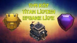 Kb9 | Titan Lig | Efsane Lig | Nasıl Kupa Kasılır | EliteTurks | Clash of Clans