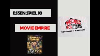 Essen Spiel 18, day 4 - Movie Empire [Overview]