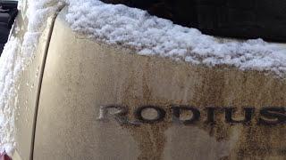 SsangYong Rodius Sv270 XDi 4WD часть 2