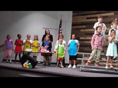 NEW BEGINNINGS CHRISTIAN SCHOOL COLUMBUS, OHIO K-2ND GRADES SPRING PROGRAM