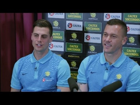 Socceroos Little Experts Press Conference | Caltex Australia Official