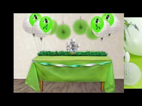 Amazing Golf Themed Party Decorating Ideas Youtube