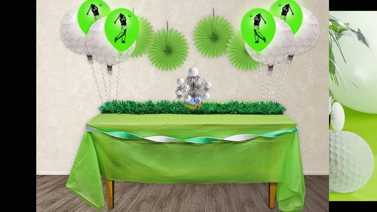 Charming Golf Themed Party Decorating Ideas Part - 6: Amazing Golf Themed Party Decorating Ideas - YouTube