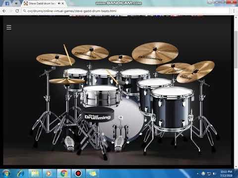Plat band mendua (cover virtual drum)