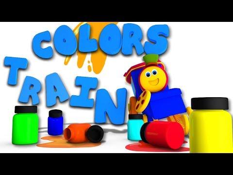 Learn Colors Song | Bob The Train Cartoons...