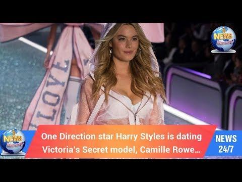 singer dating victoria's secret model