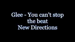 Glee - You can