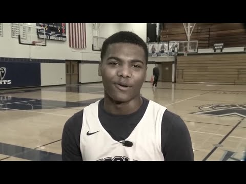 Behind The Hoops: Rod Burks Visits The Nicolet Knights