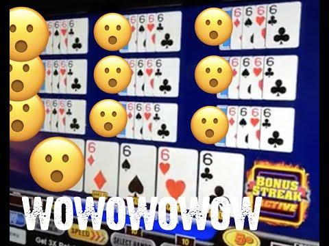 Ultimate X Bonus Streak Video Poker 10 Play